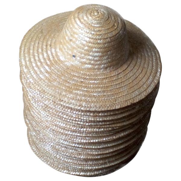丰收农用大沿45cm麦秆遮阳草帽
