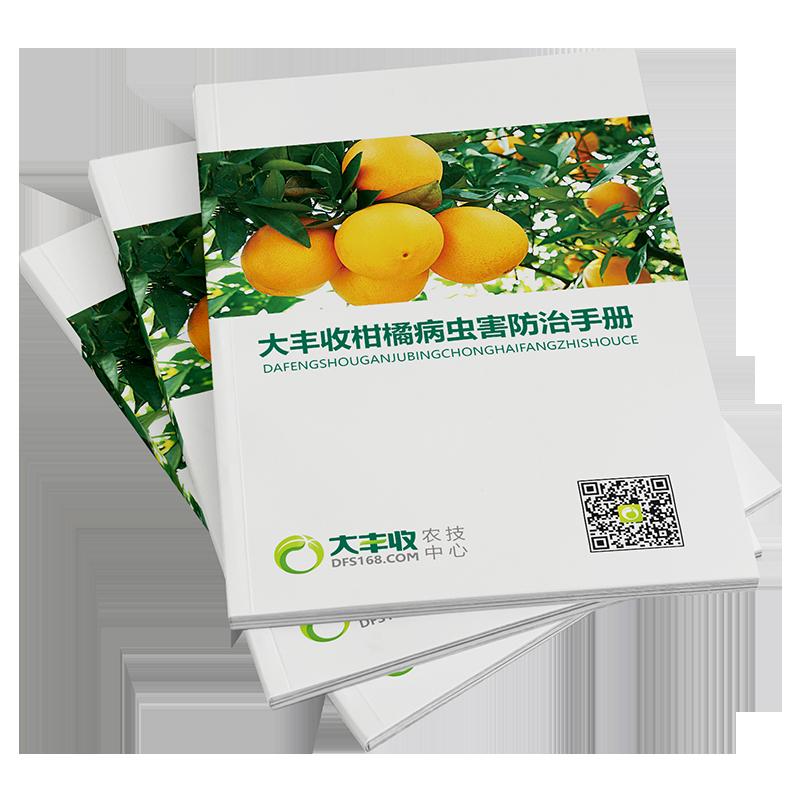 大丰收柑橘病虫害手册 1本