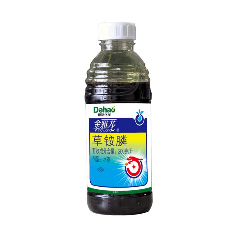科赛基农(德浩化学)金雅龙 200g/升草铵膦 水剂 900g*12瓶