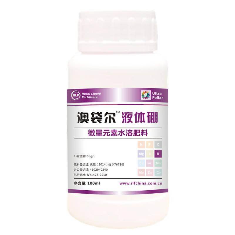 埃尔夫澳袋尓生物活性糖醇硼水剂100ml/瓶 100ml*50瓶