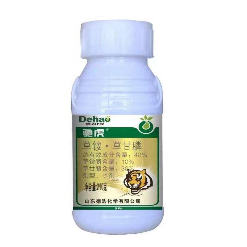 科赛基农 驰虎10%草铵膦+30%草甘膦  水剂 240g*1瓶