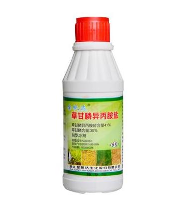 金帆达 41%草甘膦异丙胺盐水剂 200克*50瓶/箱